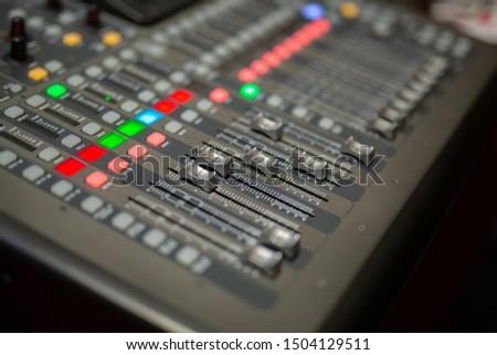 DJ controler, DJ sound control panel #1504129511
