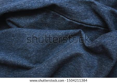 Denim. Jeans background. Denim jeans texture or denim jeans background.Blue denim pattern. #1504211384