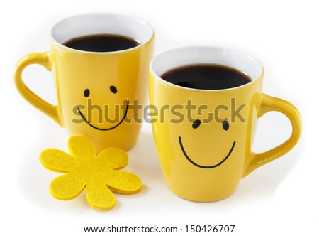 Black coffee for two