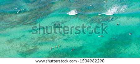 Beach Hawaii Sea Water  Blue #1504962290