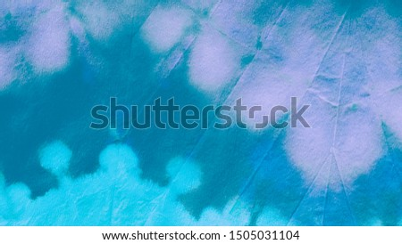 Blue Teal Ikat Design. Tie-Dye Background. Paint Watercolor Stains. Dirty Paper Texture. Ikad Design. Tie Dye Background. Abstract Aquarel Paint Stains. Blue Teal Dirty Paper Texture. #1505031104