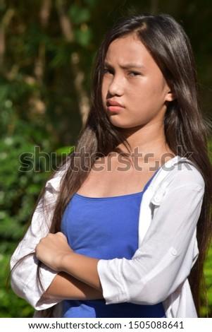 An An Unhappy Young Person #1505088641
