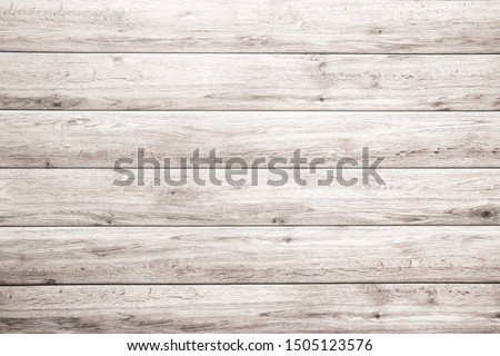 old white wood plank texture background. hardwood floor #1505123576