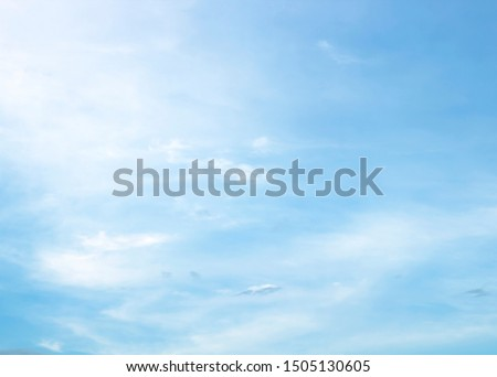 white cloud with blue sky background beautiful #1505130605