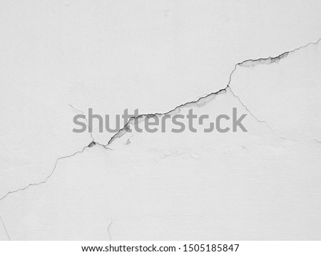 crack white wall texture background Royalty-Free Stock Photo #1505185847