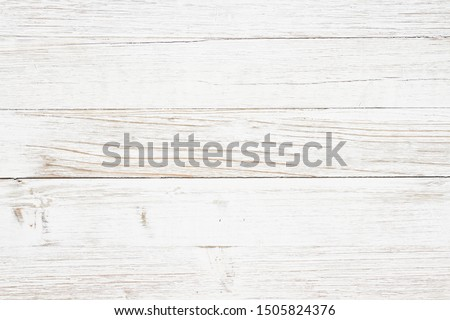 Weathered whitewash wood textured background with copy space for your message #1505824376