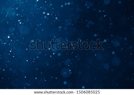 blue light background with snowflakes particles  #1506085025