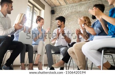 Business People Success Collaboration Teamwork Union Concept #1506420194