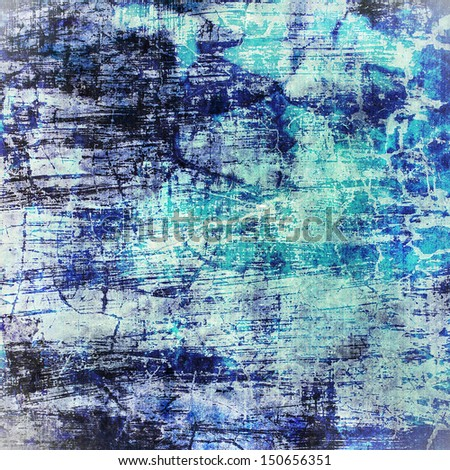 The abstract grunge background : Use for texture, grunge and vintage background and have space for text and wording #150656351