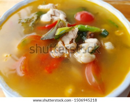 Thai food and drink zaab #1506945218
