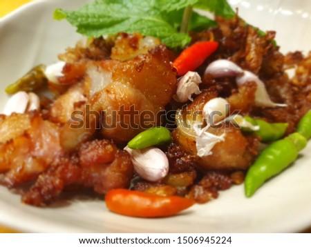 Thai food and drink zaab #1506945224