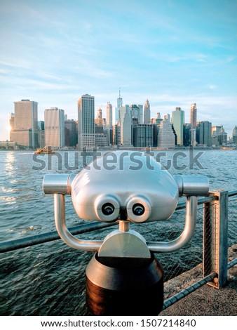 Manhattan skyline NYC from Brooklyn  #1507214840