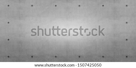 Decorative concrete wall texture for text free space