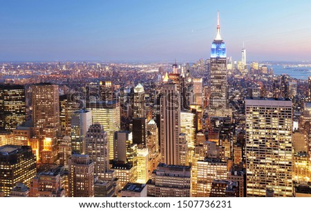 New York City skyline, USA #1507736231