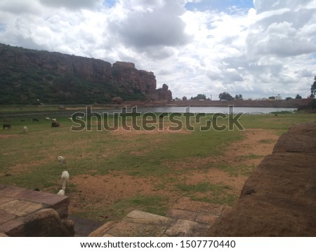 Nice beautiful weather Nature art  Badami is the best places to visit #1507770440