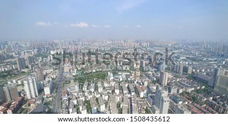 SKYSCRAPER VIEW, 50F VIEW, WUXI CHINA #1508435612