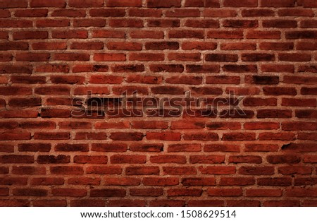 black and red grunge brick wall texture background with old dirty and vintage style pattern #1508629514