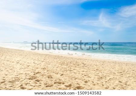 Summer at Barra Beach in Rio de Janeiro #1509143582