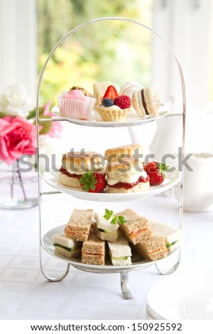 Afternoon tea Royalty-Free Stock Photo #150925592
