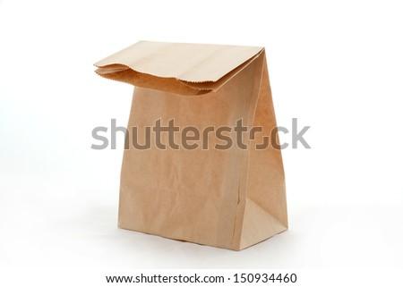 recycle paper bag  #150934460