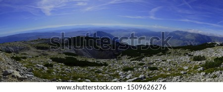 Blidinje nature park view from mountain Cvrsnica #1509626276