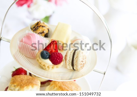 Afternoon tea  Royalty-Free Stock Photo #151049732