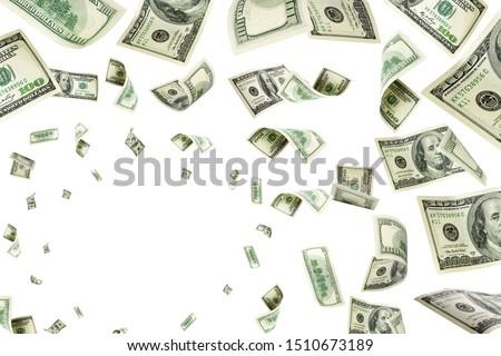 Money background. Hundred dollars of America. Usd cash money fal #1510673189