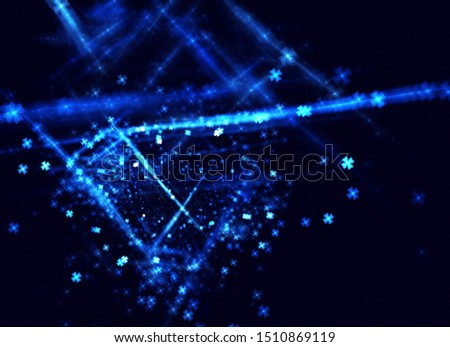 abstract fractal background, texture, bokeh, fractal ball #1510869119