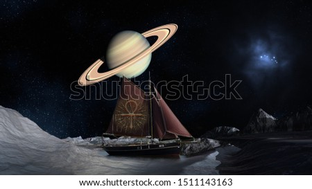 Ship on the other Planet, Universe Concept #1511143163