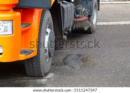 Municipal equipment for maintenance and cleaning of roads . #1511247347