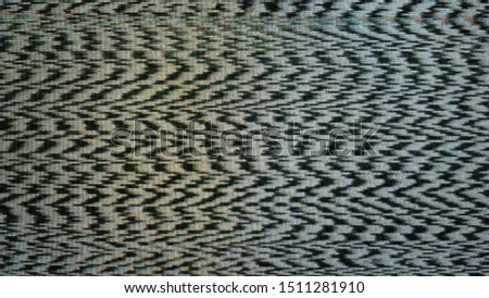 No TV signal, interference, television noise. Background use #1511281910