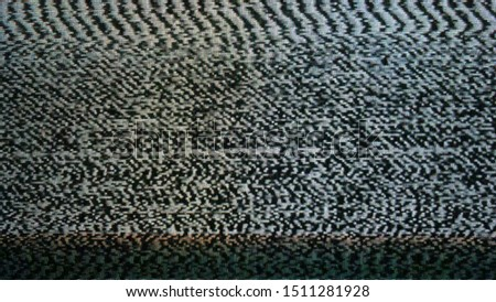 No TV signal, interference, television noise. Background use #1511281928