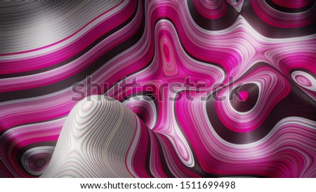 Abstract background - 3D Illustration #1511699498
