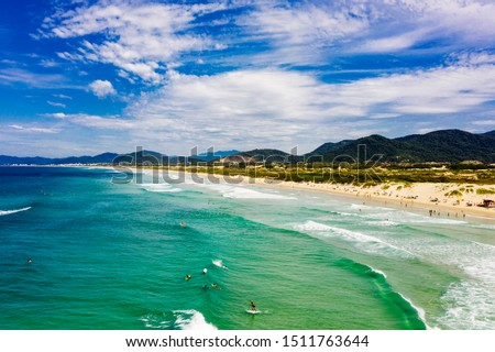 Joaquina Beach in Florianopolis Santa Catarina #1511763644