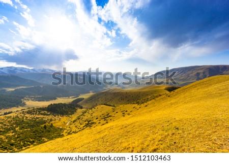 Kazakhstan nature, Plateau Assy, Almaty