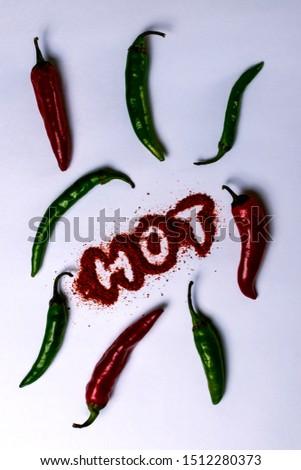 chili peppers, red pepper, hot pepper, green pepper, #1512280373
