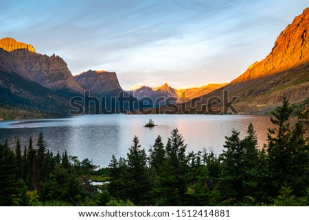 Hikes and sights of Glacier National Park, Montana #1512414881