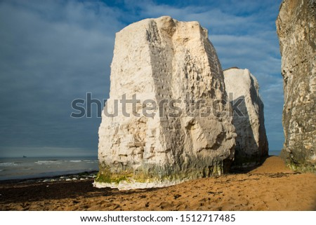 Botany Bay, Isle of Thanet on the southeast cost of England, white cliff near Ramsgate #1512717485