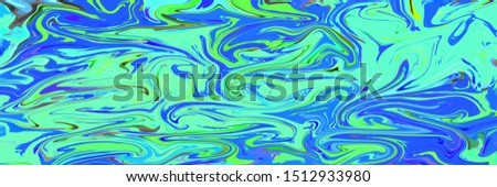 abstract Bright neon colorful wave digital marble background, #1512933980