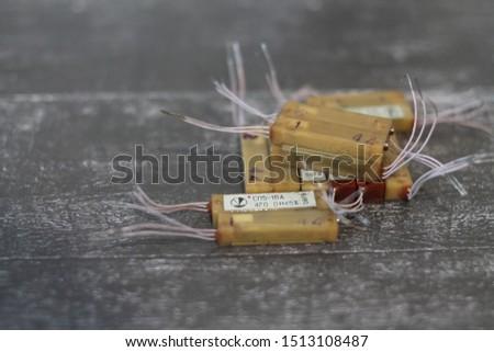radio components  radio parts   radio elements               transistors resistors made in the ussr #1513108487