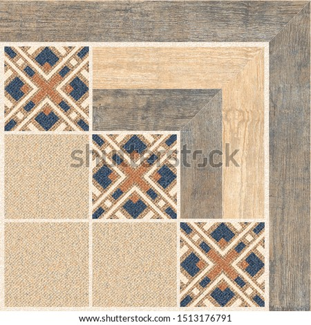 Parking Floor Tiles, Geometric Tiles Design, Wood and Jute Floor Tiles, Decorative Floor Tiles #1513176791