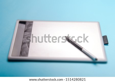 Graphic tablet with pen for illustrators and designers #1514280821