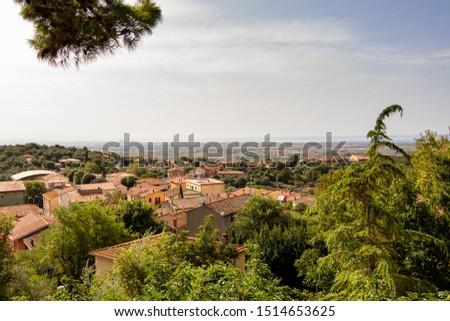 panorama capalbio tuscany italy tuscany landscape #1514653625