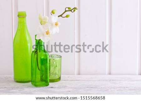 Decorative Still Life With Orchid #1515568658