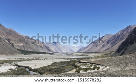 Nubra Valley, Laddakh - The valley is known for its beautiful landscape and small sand dunes. This is around 140 kilometres from Leh. #1515578282