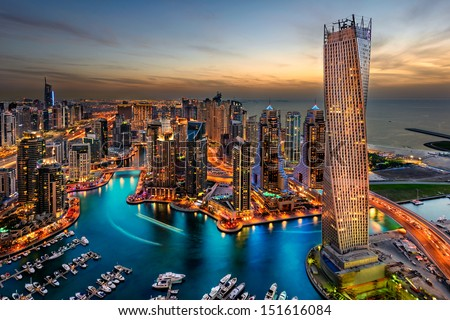 The beauty of marina just from the top Royalty-Free Stock Photo #151616084