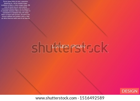 Geometric background. Lorem ipsum Dynamic shapes composition  #1516492589
