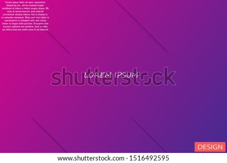 Geometric background. Lorem ipsum Dynamic shapes composition  #1516492595