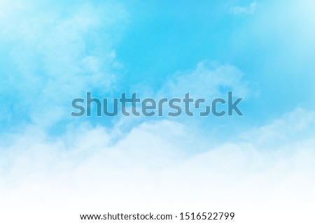 blue sky with white cloud #1516522799