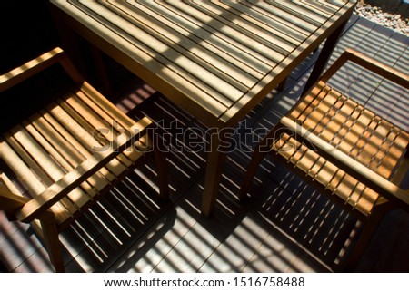Light travels in a straight line. Images of Shadow Lines. Lines and geometrical shapes with lights and shadows. #1516758488